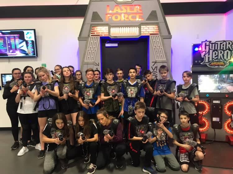Groupes scolaire au Laser Force